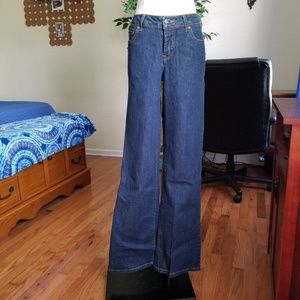 Monroe & Main NWOT flap pocket jeans 8 tall